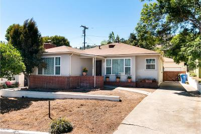 Ventura County Single Family Home For Sale: 550 North Mill Street