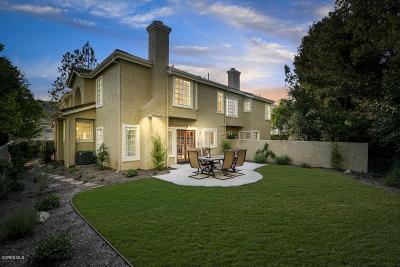 Westlake Village Condo/Townhouse For Sale: 5741 Tanner Ridge Avenue