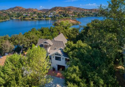 Westlake Village Single Family Home Active Under Contract: 130 Lower Lake Road
