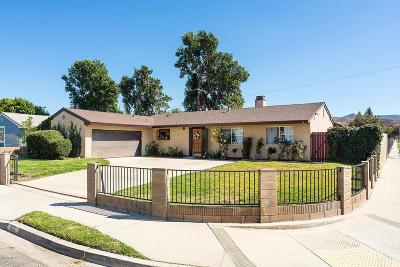 Simi Valley Single Family Home For Sale: 1731 Casarin Street