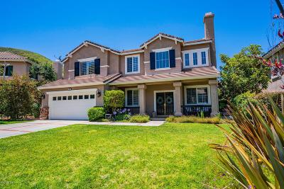 Simi Valley Single Family Home For Sale: 587 Winncastle Street