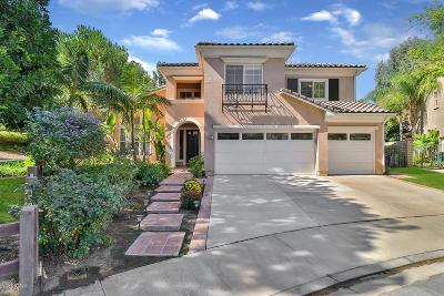 Simi Valley Single Family Home For Sale: 291 Culview Court