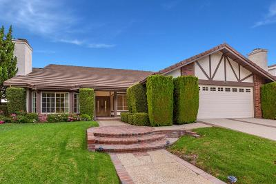 Agoura Hills Single Family Home Active Under Contract: 5811 Hempstead Drive