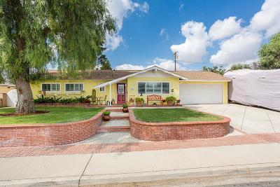 Simi Valley Single Family Home Active Under Contract: 2143 Fig Street
