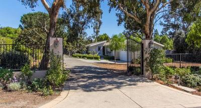 Moorpark Single Family Home For Sale: 7940 Grimes Canyon Road