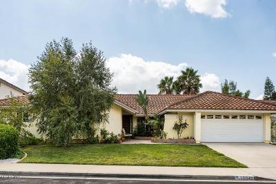 Moorpark Single Family Home For Sale: 13040 East Cloverdale Street