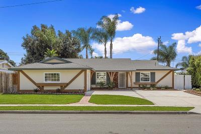 Camarillo Single Family Home For Sale: 1926 Hobart Drive
