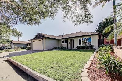 Oxnard Single Family Home For Sale: 2121 Olga Street