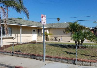 Oxnard Single Family Home Active Under Contract: 3149 South N Street
