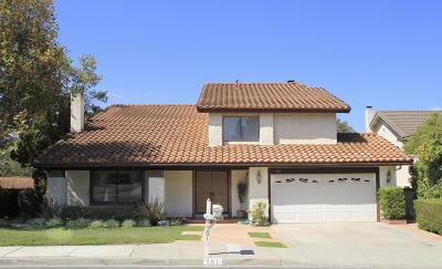 Thousand Oaks Single Family Home For Sale: 301 Fox Ridge Drive