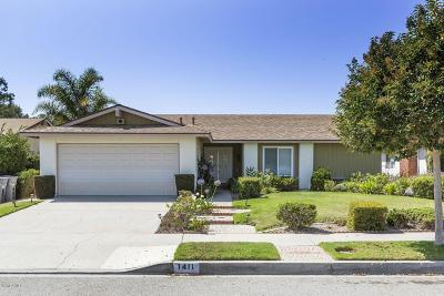Oxnard Single Family Home For Sale: 1411 Kelp Street