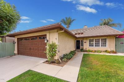 Camarillo Single Family Home For Sale: 5540 Butterfield Street