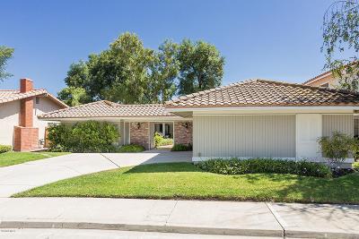 Westlake Village Single Family Home For Sale: 31707 Kentfield Court