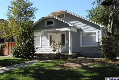 Glendale CA Single Family Home Sold: $595,000