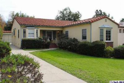Glendale CA Single Family Home Sold: $859,000
