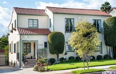 Glendale CA Single Family Home Sold: $1,055,000