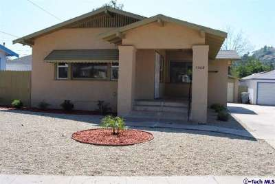 Glendale CA Single Family Home Sold: $649,000