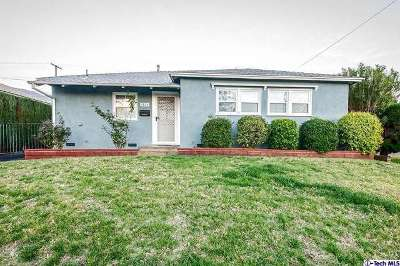 Burbank CA Single Family Home Sold: $650,000