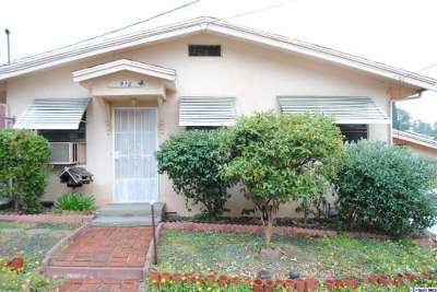 Los Angeles CA Single Family Home Sold: $600,000