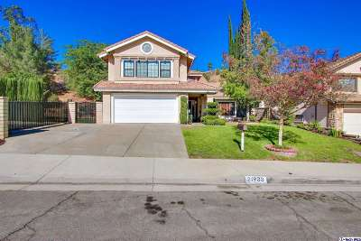 Saugus CA Single Family Home Closed: $645,000