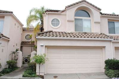 Glendale CA Condo/Townhouse Sold: $725,000