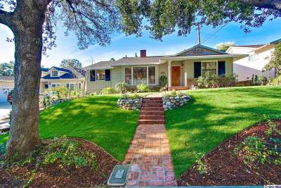 La Canada Flintridge CA Single Family Home Closed: $1,415,000