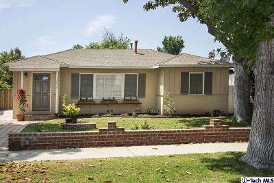 Van Nuys CA Single Family Home Sold: $669,000