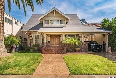 Glendale Single Family Home For Sale: 140 South Jackson Street
