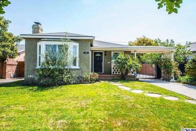Los Angeles CA Single Family Home Sold: $760,000