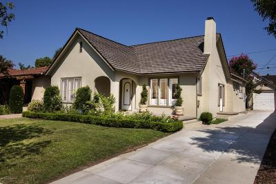 San Marino Single Family Home For Sale: 615 Plymouth Road