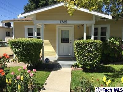 Glendale Single Family Home For Sale: 1765 Fern Lane