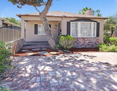Pasadena Single Family Home For Sale: 1516 Coolidge Avenue
