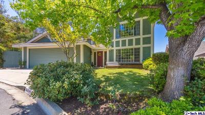 Glendale Single Family Home For Sale: 1841 Cathay Street