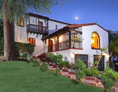 Glendale Single Family Home For Sale: 1408 Cordova Avenue