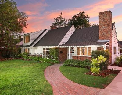Glendale Single Family Home For Sale: 1535 Ben Lomond Drive
