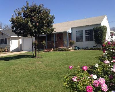 Burbank Single Family Home For Sale: 904 North Lamer Street