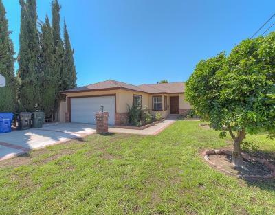 Glendale Single Family Home For Sale: 3016 Fairesta Street