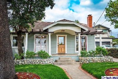 Pasadena Single Family Home For Sale: 559 Macdonald Street