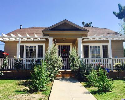 Glendale Single Family Home For Sale: 468 Hawthorne Street