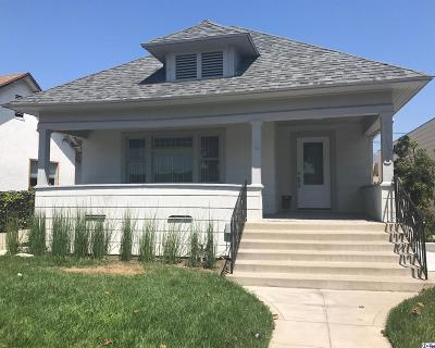 Glendale Single Family Home For Sale: 1123 East Broadway