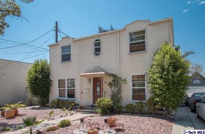 Glendale Single Family Home For Sale: 911 North Howard Street