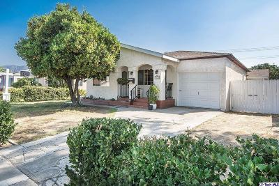 Burbank Single Family Home For Sale: 1622 North Lincoln Street