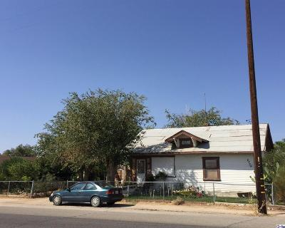 Rosamond CA Single Family Home Sold: $160,000