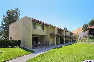 Burbank Condo/Townhouse For Sale: 9549 Via Salerno
