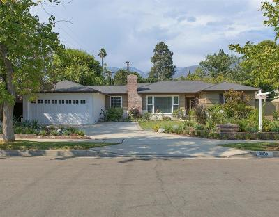 Pasadena Single Family Home For Sale: 2815 Thorndike Road