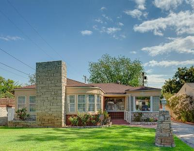 Burbank Single Family Home For Sale: 610 South Orchard Drive