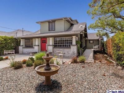 Los Angeles Single Family Home For Sale: 5356 La Mirada Avenue