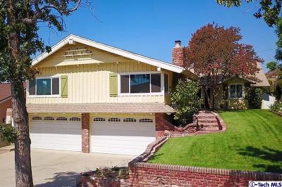 Burbank Single Family Home For Sale: 1011 Delaware Road