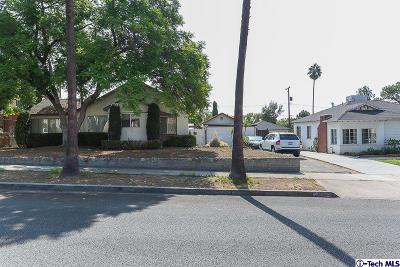 Burbank Single Family Home For Sale: 816 East Cypress Avenue