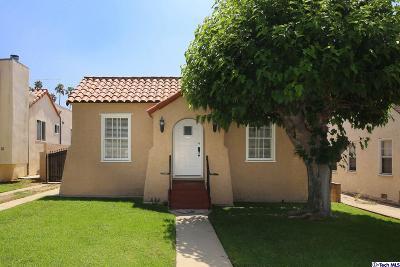 Los Angeles County Single Family Home For Sale: 1212 Raymond Avenue